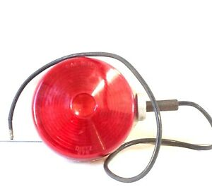 Dietz 275 276 Vintage 2 Sided Light 4 25 Red And Orange Lens Nos Bus Trailer