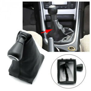 For Peugeot 206 207 406 2006 13 Pu Leather Shift Knob Gear Stick Knob Cover