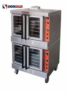 Sierra Range Srco 2 Double Stack Gas Convection Oven