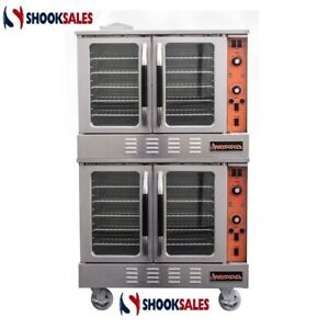 Mvp Group Srco 2e Double Stack Convection Oven Electric 3 Phase Power