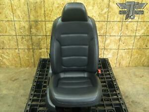 11 14 Vw Jetta Front Right Pass Side Seat Bucket Leather Black 5c6881105c Oem