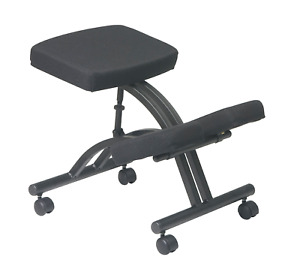 Office Star Ergonomically Designed Knee Chair With Casters Memory Foam And Base