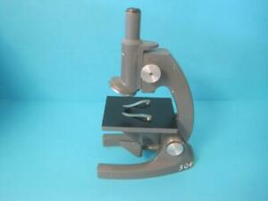 Awesome Bausch Lomb Model St Microscope Student No Objectives W 10x Eyepiece