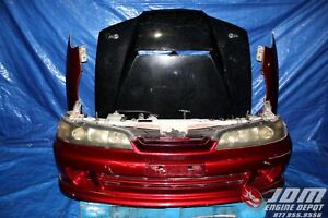 94 01 Honda Integra Db8 4dr Type R Itr Red Front End Nose Convers