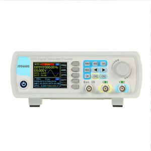 Dual channel Dds Function Signal Generator Arbitrary Waveform 1hz 100mhz
