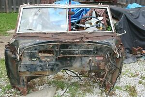1949 Chrysler Convertible Firewall And Windshield