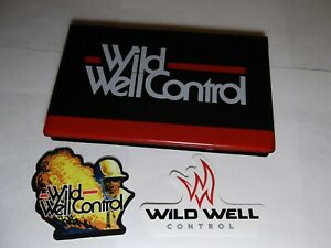 Wild Well Tally Book rare And Sticker For Crane Oilfield Mining Construction2