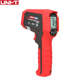 Uni t Ut309c Handheld Dual Laser Infrared Thermometer With Alarm Function