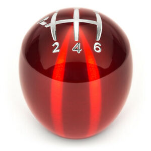 Raceseng Slammer Shift Knob Red gate 1 Engraving For Mazda Miata Nd