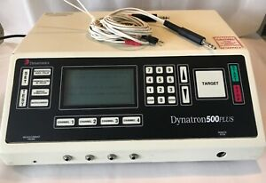 Dynatronics Dynatron 500plus 500 Muscle Stimulator With Two Leads Chiropractor