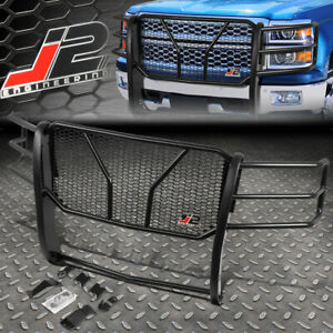 J2 For 14 15 Chevy Silverado 1500 Front Bumper Grille Honeycomb Mesh Brush Guard