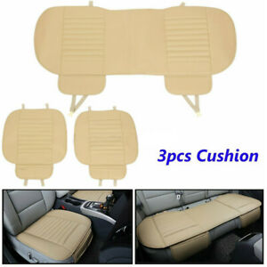 Universal Car Seat Cover Pu Leather 3d Breathable Pad Mat For Auto Chair Cushion