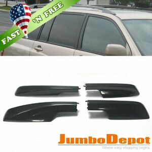 Us 4x Roof Rack Cover Rail End Shell Cap Replacement Fit 01 07 Toyota Highlander