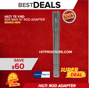 Hilti Te Y rd Sds Max 3 4 Rod Adapter Brand New Strong Fast Shipping