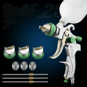 600cc Hvlp Spray Gun Kit Gravity Feed Vehicle Car Paint 1 4mm 1 7mm 2 0mm P1d4q
