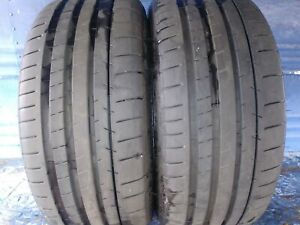 2 Michelin Pilot Super Sport 225 40 Zr18 Bmw With 8 5 32nd Tread Left 88 Y