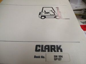Clark Gp127 Forklift Service Manual