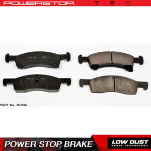 Power Stop Front Clean Ceramic Brake Pads For 2003 2006 Ford Expedition