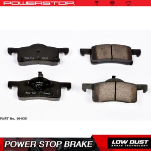 Power Stop Rear Clean Ceramic Brake Pads For 2003 2006 Ford Expedition