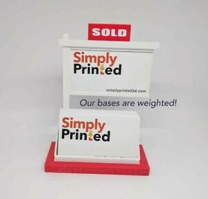 Lot Of 10 Real Estate Business Card Holders realtor Business Card Displays red