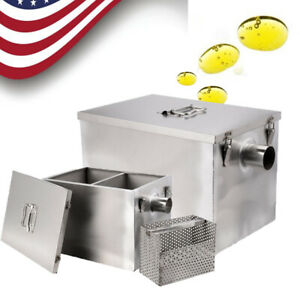 Gallons Per Minute Trap Interceptor 8lb 5gpm Commercial Kitchen Stainless Steel