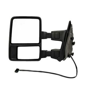 Driver Side For 08 16 Ford F250 F350 Super Duty Power Heated Signal Tow Mirror