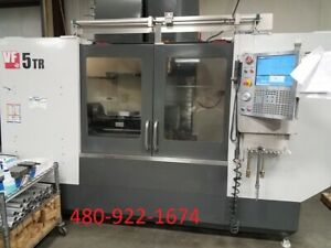 2014 Haas Vf 5 50tr 5 Axis Cnc Vertical Machining Center Vmc Mill