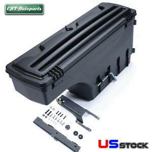 Diy Pickup Bed Tool Storage Box Case For Ford F 150 2015 2019 Rear Left