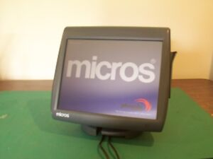 Micros Work Station 5a W Display Workstation 5a Ws5a Pos 400814
