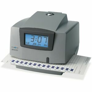 Pyramid 3500 Multi purpose Time Clock And Document Stamp Free Shipping
