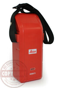 Leica Geb371 External Battery Pack total Station gps tps tcr robotic 818916