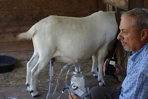 Dansha Farms The Frontier Goat Sheep Cow Milk Machine Rechargeable Pac 1 Gall