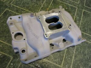 Offenhauser 360 4150 Flange Intake Manifold Pontiac 350 400 455 Gto Holley 60 S