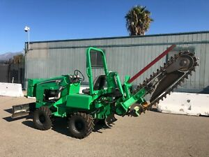 2014 Vermeer Rtx450 4x4 Ride On Diesel 60 Trencher Ditch Witch 239 Hours