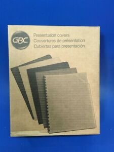 Box Of 200 Gbc Regency 8 1 2 X 11 Navy Presentation Covers Unpunched 2000819