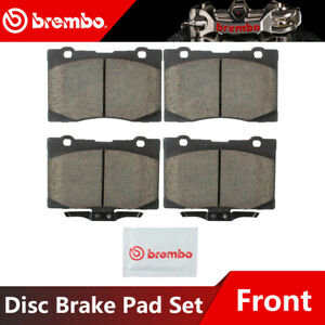 Brembo Front Ceramic Brake Pads For 2005 2012 Acura Rl High Performance
