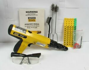 Simpson Strong Tie Pt 27 Powder Actuated Fastening Tool Free Shipping