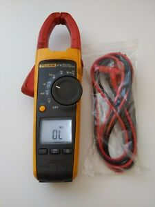 Fluke 376 True Rms Ac Dc Clamp Meter Multimeter New Test Lead Probes