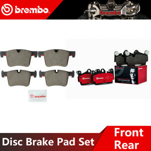 Brembo Front Rear Ceramic Brake Pads For 2011 2017 Bmw X3 High Quality