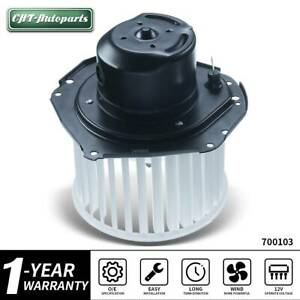 A C Heater Blower Motor W Fan Cage For Chevy Gmc Buick Blazer Suburban Camaro