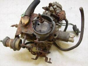 Jeep Cj5 Cj7 Cj8 Carter 2 Barrel Carburetor 4 2 6 Cylinder 258 Amc Electronic