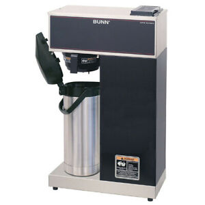Bunn 33200 0014 Vpr aps Pourover Airpot Coffee Brewer Stainless