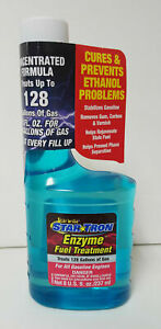 Star Tron Enzyme Fuel Treatment Stabilize Concentrated Gas Formula 8 Oz Bottle