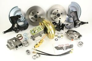 1967 72 Chevy Gmc Truck C10 Front Stock Height 5 Lug Disc Brake Conversion Kit