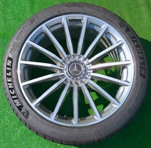 Factory Mercedes benz Amg Gt 63 S 20 Inch Wheels Tires Genuine Original Oem 63s