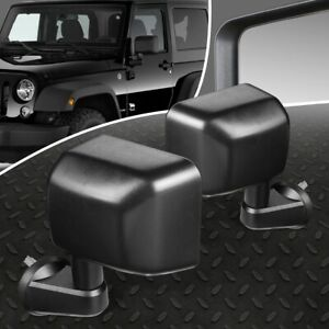 For 07 18 Jeep Wrangler Jk Pair Oe Style Manual Adjustment Side View Door Mirror