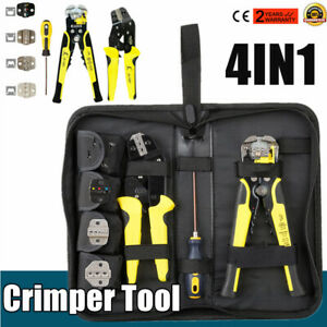 4in1wire Crimper Ratcheting Engineering Crimping Plier Terminal Tool Laborsaving