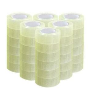36 Rolls 1 9 X 110 Yards 330 Ft Box Carton Sealing Packing Package Tape Clear