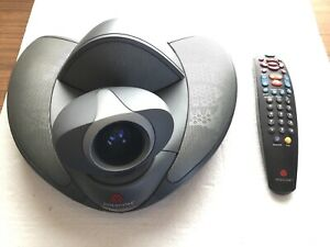 Polycom Vsx 7000 Video Conferencing Camera And Remote