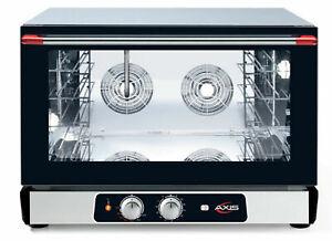 Axis Ax 824rhd Convection Oven Digital Countertop Full Size Humidity Controls